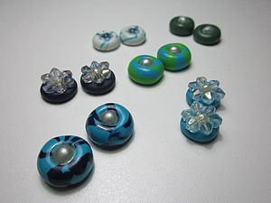 Fimo - Sets of earrings made of fimo