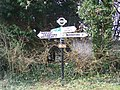 Finger post, Tarrant Crawford - geograph.org.uk - 1690773.jpg