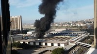 File:Fire at trainstation in Capetown 2018 1.webm