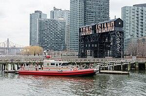 Bravest (fireboat) - Image: Fireboat Bravest a