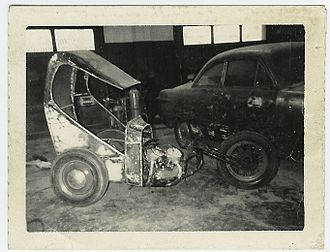 Chopper (motorcycle) - One of the earliest choppers, built by Wild Child's Custom Shop of Kansas City, Missouri.
