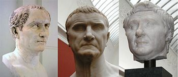 First Triumvirate of Caesar, Crassius and Pompey.jpg