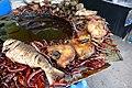 Fish in a restaurant in Chandpur 01.jpg