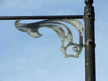 English: Fishy Lamp Post All the lamp posts ha...