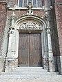Flêtre (Nord, Fr) église, portail.JPG