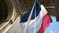 Flag of France- Arc de Triomphe.jpg