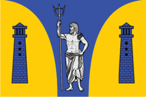 Vysotsk - Image: Flag of Vysotck (Leningrad oblast)