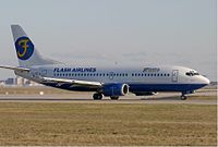 Boeing 737-3Q8 компании Flash Airlines