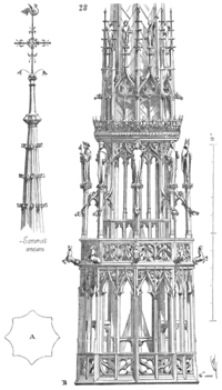 Style n o gothique wikip dia for Architecture a 3 niveaux