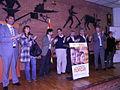 Flickr - Convergència Democràtica de Catalunya - Generals2011 O.Pujol i candidats final míting Móra Ebre.jpg