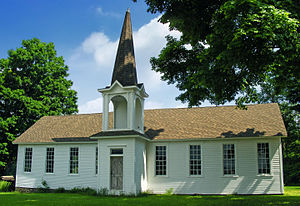 Fishing Creek Township, Columbia County, Pennsylvania - One room schoolhouse