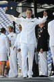 Flickr - Official U.S. Navy Imagery - A midshipman receives his diploma during the U.S. Naval Academy Class of 2012 graduation and commissioning ceremony..jpg