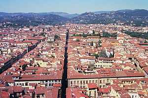 Giotto's Campanile - View from the tower.