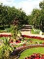 Flowerbeds in apple orchard (Kolomenskoye) 11.JPG
