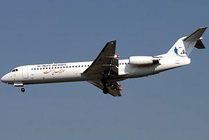 Karun Airlines - Naft Airlines Fokker F100, Tehran, 2011