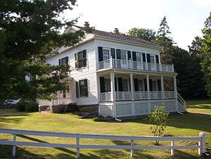 Taylors Falls, Minnesota - The Folsom House, in Taylors Falls's Angel Hill District.