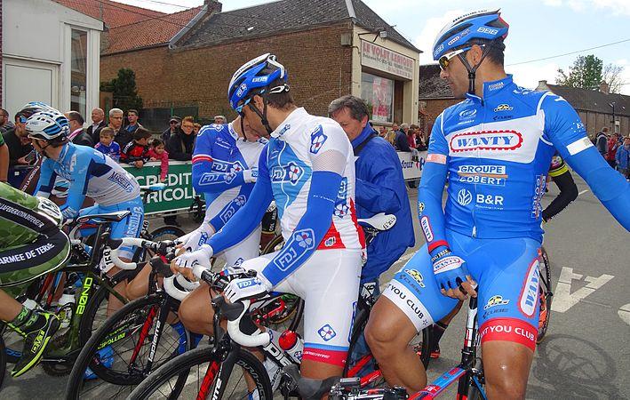 Fontaine-au-Pire - Quatre jours de Dunkerque, étape 2, 7 mai 2015, départ (C02).JPG