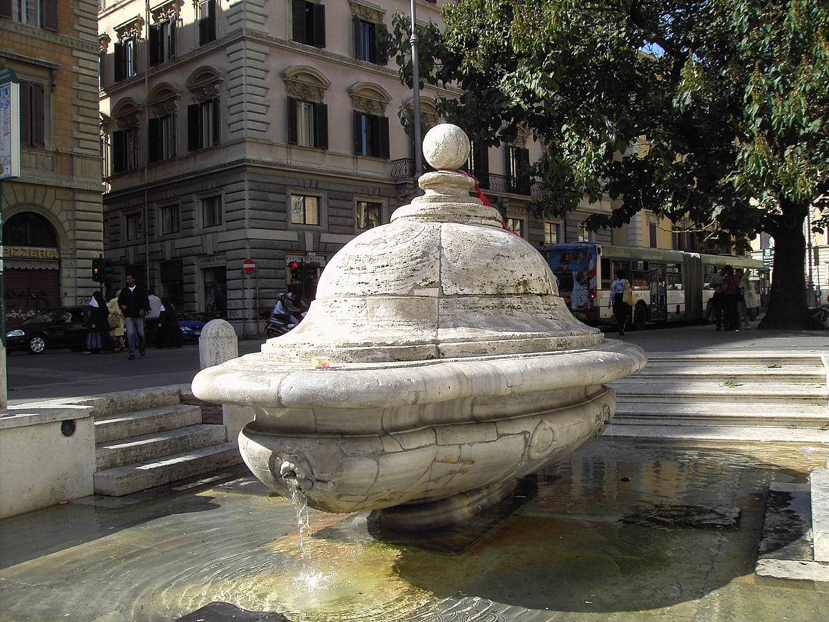 Fontana della terrina wikipedia - Corso di design roma ...