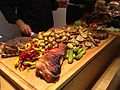 Food served in the conference room of Mrva & Stanko Winery, Trnava, Slovakia - 20140723-02.jpg