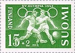 Football at the 1952 Summer Olympics Finnish stamp.jpg