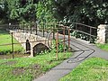 Footbridge over Cannington Brook - geograph.org.uk - 1373423.jpg
