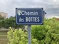 Footing de confinement 2020 - Chemin des Bottes (Saint-Maurice-de-Beynost) - panneau de rue.jpg