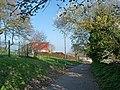 Footpath, Gaer Road, Newport - geograph.org.uk - 2364139.jpg