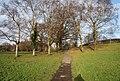 Footpath across Grosvenor Recreation Ground - geograph.org.uk - 1117325.jpg