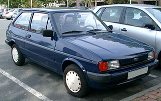 Ford Fiesta (second generation) supermini car, second generation of the Ford Fiesta