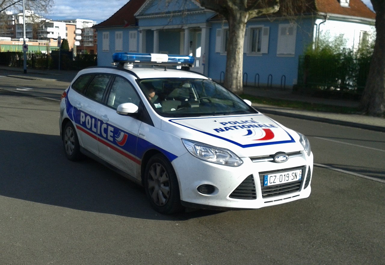 File Ford Focus Sw Police Nationale Strasbourg Janvier