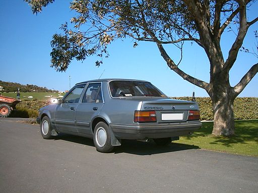 Ford Orion ´84 rear