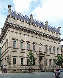 Manchester Athenaeum building in Manchester, England
