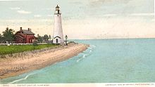 Fort Gratiot Lighthouse postcard - Port Huron Michigan.jpg
