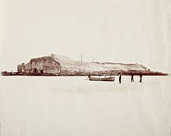 Fort Sumter, Exterior, 3 1-2 Miles From Charleston LACMA M.2008.40.190 (2 of 2).jpg