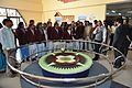 Foucault Pendulum Demonstration - Ranchi Science Centre - Jharkhand 2010-11-29 8870.JPG