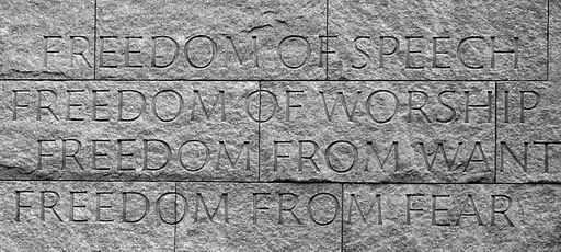 Four freedoms human rights