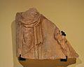 Fragment de sarcòfag esculturat romà, excavacions de la presó de sant Vicent Màrtir.JPG
