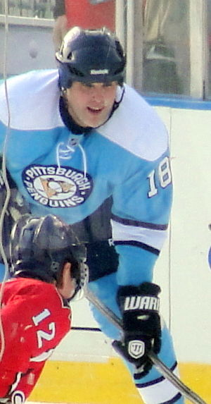 François Leroux - Leroux at the Alumni Game in Pittsburgh, December 2010