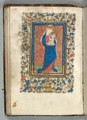 France, Metz - Book of Hours (Use of Metz)- Fol. 26v, Virgin and Child - 1942.1514.26.b - Cleveland Museum of Art.tif