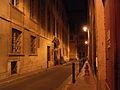 France Toulouse Rue des Fleurs de nuit.JPG