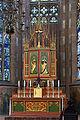 Frankfurt Am Main-Leonhardskirche-Ausstattung-Hochchor-Hochaltar-Geschlossen.jpg