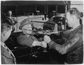 Franklin D. Roosevelt and plant workers in Tulsa, Oklahoma - NARA - 196077.tif