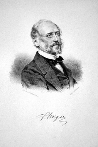 Franz Unger - Franz Unger, lithograph by Josef Kriehuber