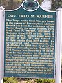 Fred Warner House Historical Marker.JPG