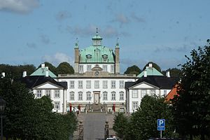 Johan Conrad Ernst - Ernst coordinated the construction of Fredensborg Palace