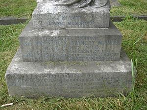 Frederick Stanley Maude - Memorial to Maude at Brompton Cemetery, London