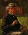 Frederik Christian Lund - Portræt af landskabsmaleren Heinrich Buntzen - 1868.png