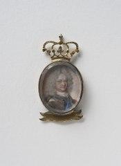 Fredrik Vilhelm I (1675-1713), hertig av Mecklenburg-Schwerin, gift med Sofia Charlotta Karolina, prinsessa av Hessen Kassel
