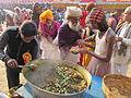 Free Food Distribution - Gangasagar Fair Transit Camp - Kolkata 2012-01-14 0690.JPG