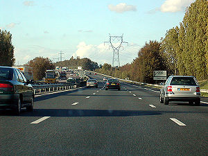Autoroutes of France - A French motorway.